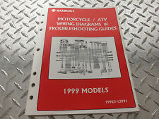 1999 Suzuki Motorcycle & Atv Wiring Diagram Manual 99923-13991