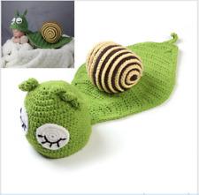 Snail Cute Newborn Baby Girl Boy Crochet Knit Costume Photo Photography Prop
