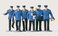 Merten 2529 h0, personale ferroviario, 6 figure, dipinta a mano, nuovo