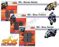 SBS front brake pads Dual Carbon Ducati 999 03-07 04 05 06 762DC Race use only