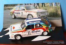 RENAULT 11 TURBO #11 RALLYE CATALUNYA 1987 PURAS AGUADO IXO ALTAYA 1/43