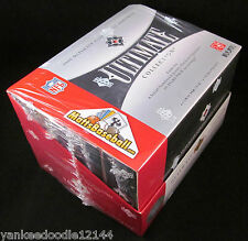 2006 Ultimate Collection Football Unopened Hobby Box Factory Sealed Upper Deck