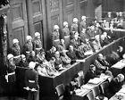 NUREMBURG TRIALS-Looking down on the defendants' dock-Germany-1945-46 PHOTO