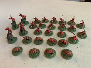 VTG Ral Partha Figurines - Goblin Imp Army - Wolf Riders & On Foot - All Painted