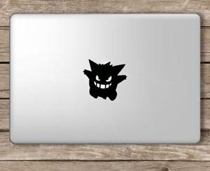 "Gengar Vinyl Decal Sticker For MacBook Air Pro Mac 11"" 13"" 15""  & Car"