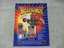 BELLY BOMBER  NAMCO     ARCADE GAME  FLYER
