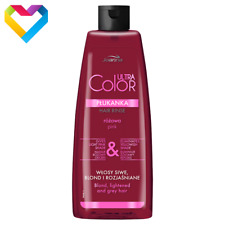 JOANNA Ultra Color System Hair Toner Rinse PINK 150ml