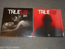 TRUE BLOOD - 2011 & 2015 WALL CALENDARS - BRAND NEW & SEALED
