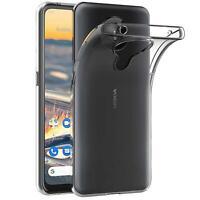Handy Case für Nokia 5.3 Hülle Transparent Schutz Tasche Handyhülle Cover