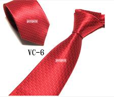 New Classic Checks Light red stripe  JACQUARD WOVEN 100% Silk Men's Tie Necktie