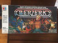 Berzerk Milton Bradley Board Game Vintage Used