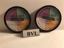 WET N WILD COVERALL CORRECTING PALETTE #349 COLOR COMMENTARY **LOT OF 2**