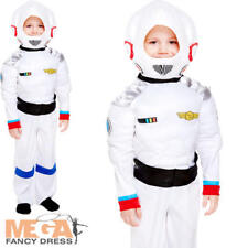 Space Boy Toddler 2-3 Fancy Dress Astronaut NASA Kids Childrens Uniform Costume