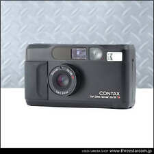 【Rare Near Mint+++】CONTAX T2 Limited Black Point & Shoot  w/Case from JAPAN 1225