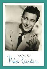 PETER GARDEN   Schauspieler   Original-Autogramm auf Starpostkarte