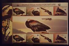 V131.Briefmarken Vögel 2004 Lesotho WWF  Kb.,postfrisch
