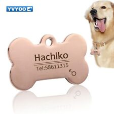 Pet Dog cat collar accessories Decoration Pet Id Dog,cat tag and stainless steel
