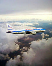US AIRWAYS A319 PIEDMONT AIRLINES RETRO LIVERY 8x10 SILVER HALIDE PHOTO PRINT