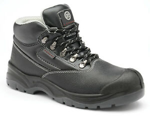 Zephyr 5 D-Ring Leather Safety Boot with Steel Toe and Midsole