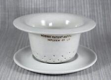 More details for rare antique hobbs antitannic tea infuser c1910
