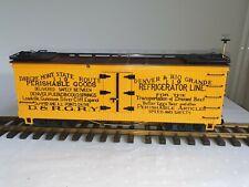 LGB 4174 Denver & Rio Grande Reefer US Refrigerator Freight Car Güterwagen D&RG