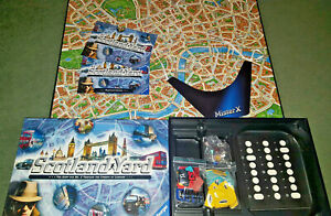 SCOTLAND YARD - STRATEGY FAMILY BOARD GAME - RAVENSBURGER GAMES