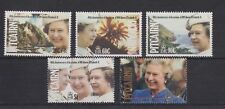 QEII 1992 40th Anniversary Accession MNH Stamp Set Pitcairn Islands SG 409-413