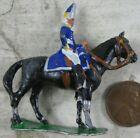 Lot of Vintage Miniature Cast Lead Soldiers on Horse Stadden