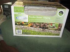 Suncast 10 FT Garden Border Stone Edging Gray Resin