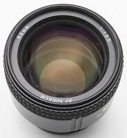 Nikon AF Nikkor 85mm 85 mm 1:1.8 D 1.8 für analog digital