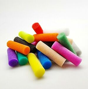 Candy Foam Cylinders - Choice Of Colour and Size  - Fly Tying Materials  - Booby