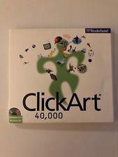 *RARE* Clipart 40,000 Broderbund 3 CD's 1997 Windows