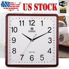 HD 1080P WIFI Spy Hidden Camera Wall Clock Video recorder Motion Detection Cam