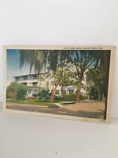 MT Dora FL VILLA DORA HOTEL  RPPC Postcard 1946