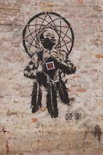Banksy Style Dr Luther King Junior Street Giant Poster Art Print Llf0923