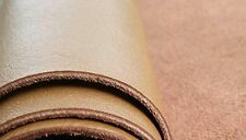 REED LEATHER HIDES - COW SKINS Natural Finish Cow leather 8 inches X 11 Inches