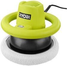 10 in. Orbital Buffer Polisher Power Tool Green Wheel-Style Handle Slide Switch