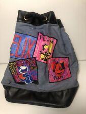 Collectable Felix the Cat Cartoon Show Collectors Drawstring Bag