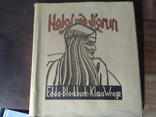 Edda Blockbuch;Helgi und Sigrun;Klaus Wrage