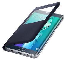 GENUINE Samsung Galaxy S6 Edge + Plus S View Flip Cover Case EF-CG928PBEGWW