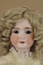 """25"""" Antique Bisque Head Composition German Adolf Wislizenus AW Doll"""