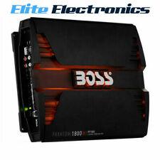 BOSS AUDIO PF1800 PHANTOM SERIES 4 CHANNEL CH 1800W CLASS AB CAR MPLIFIER AMP
