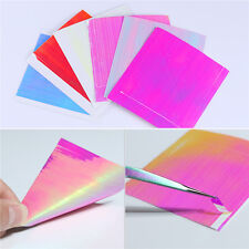 6Sheets BORN PRETTY Holo Nail Foils Laser 3D Nail Stickers Ultra Thin Line Decal