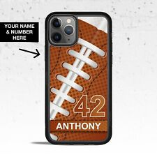Personalized Football Phone Case for Apple iPhone iPod & Samsung