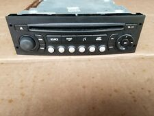 PEUGEOT EXPERT 207 307 807 CITROEN C2 C3 C4 C8 RD4 VDO CD RADIO PLAYER 96 624490