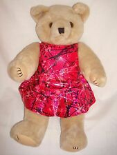 "Handmade Leotard and skirt  for large Build a Bear Mascot or 19"" Doll"