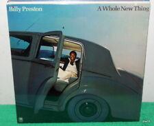 BILLY PRESTON - A WHOLE NEW THING - SEALED VINYL LP