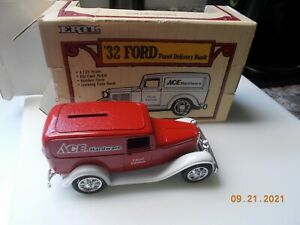 ERTL Ace Hardware 1932 Ford Panel Delivery Bank, 1:25 Scale, 3rd edition