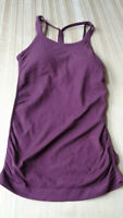 FABLETICS Women's Athletic Workout Top Active Gym Sleeveless SMALL S - WINE