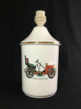 "Pied de lampe porcelaine ""Rolls Royce 1903"""